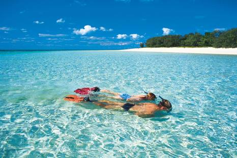 Snorkelling Off Heron Island, Southern Great Barrier Reef, Gladstone