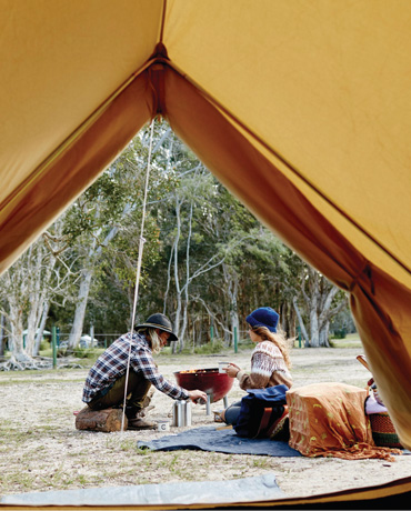 Camping and Caravanning in Queensland